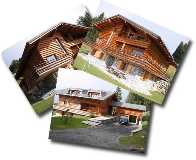 External views of the chalet le ruisseau